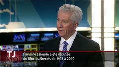 Gilles Duceppe réagit au décès de Francine Lalonde