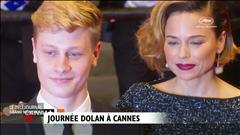 Tapis rouge pour Xavier Dolan à Cannes