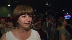 VIDÉO : La réaction de Marie-France Lalonde au micro de Pascale-Marie Dufour