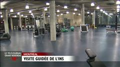 Visite guidée de L'Institut national des sports du Québec