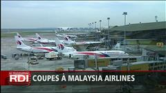 La compagnie Malaysia Airlines supprimera des milliers d'emplois