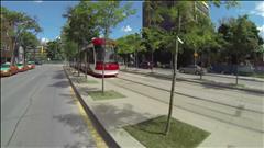 Nouveau tramway à Toronto