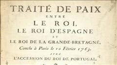 Le traité de Paris bientôt exposé au Musée de la civilisation