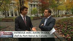 Entrevue avec Justin Trudeau