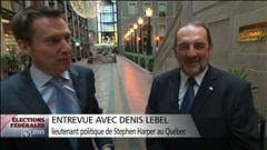 Entrevue avec Denis Lebel