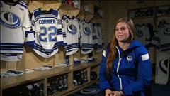 Jessica Cormier, l'espoir du hockey féminin