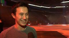 Patrick Chan patine sans pression