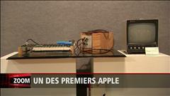 Le premier ordinateur Apple construit dans le garage de Steve Jobs vendu à fort prix