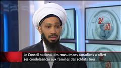 La communauté musulmane appelle à la non-violence