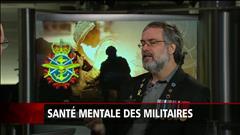 Santé mentale : plus d'aide pour les soldats