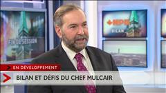 Entrevue avec Thomas Mulcair