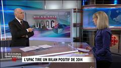 Bilan 2014 de l'UPAC