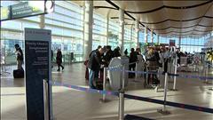 Achalandage majeur dans les aéroports