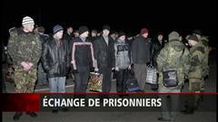 Kiev : 145 militaires libérés par les séparatistes prorusses