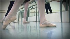 Danser pour le Ballet royal de Winnipeg
