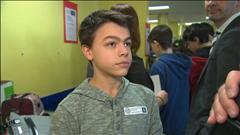 Raif Badawi : les élèves de l'école Mitchell de Sherbrooke s'impliquent
