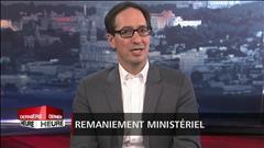 Remaniement : Stéphane Bédard réagit