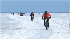Du vélo sur neige et sur glace