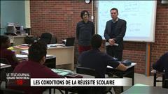 Visite de l'école secondaire Édouard-Montpetit