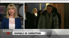 François Thériault plaide coupable à des accusations de fraude, de complot et d'abus de confiance.
