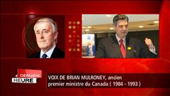 Décès de Pierre Claude Nolin : réaction de Brian Mulroney