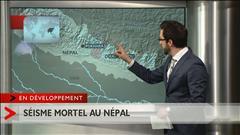 Népal : Une secousse d'une magnitude de 7,9