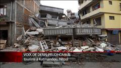 Séisme : un touriste à Katmandou témoigne