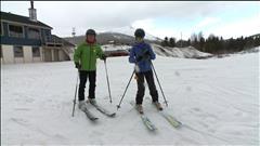 La saison de ski n'est pas terminée à Murdochville!