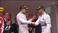 Nico Rosberg profite d'une erreur de Mercedes-Benz