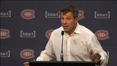 « On n'est pas une équipe défensive » - Marc Bergevin