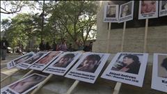 Manifestations pour les femmes autochtones assassinées ou disparues