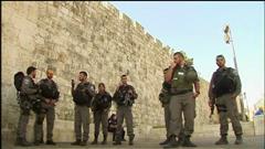 Vives tensions à Jérusalem