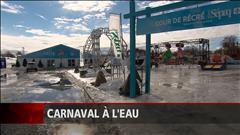 Le carnaval de Québec interrompu