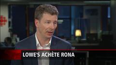 Le syndicat des employés de Rona réagit à la vente de l'entreprise