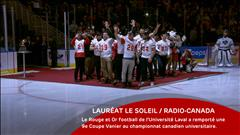 Le Rouge et Or football - le 4 décembre 2016