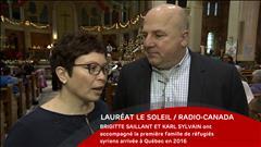 Brigitte Saillant et Karl Sylvain - le 29 janvier 2017