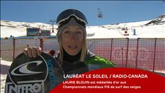 Laurie Blouin - le 19 mars 2017
