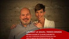 Marie-Claude et Claude Chevrette - le 18 juin 2017
