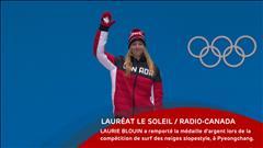Laurie Blouin - 18 février 2018