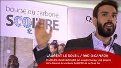Charles-Hugo Maziade de la Coop FA - 2 septembre 2018