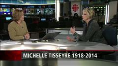 Béatrice Picard réagit au décès de Michelle Tisseyre