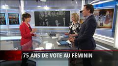 75 ans de vote au féminin