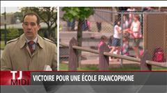 Victoire pour une école francophone