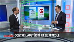 Ianik Marcil s'oppose aux mesures d'austérité et à l'exploitation du pétrole au Québec