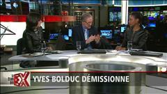 Le Club des ex commente la démission d'Yves Bolduc
