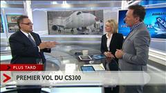 Le plus gros avion de la gamme CSeries prend son envol