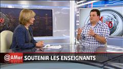 Philippe Laprise et les enseignants