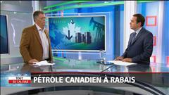 Pétrole canadien à rabais