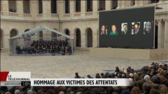 La France rend hommage à ses victimes