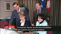 Entrevue avec Sheila Copps sur la mort de Jean Lapierre